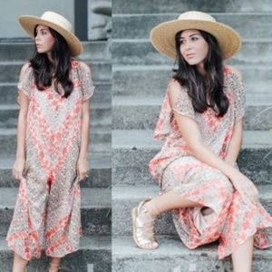 NWOT Zara Size L Floral Romper